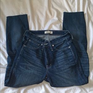 Madewell slim straight jeans Appleton wash sz 27